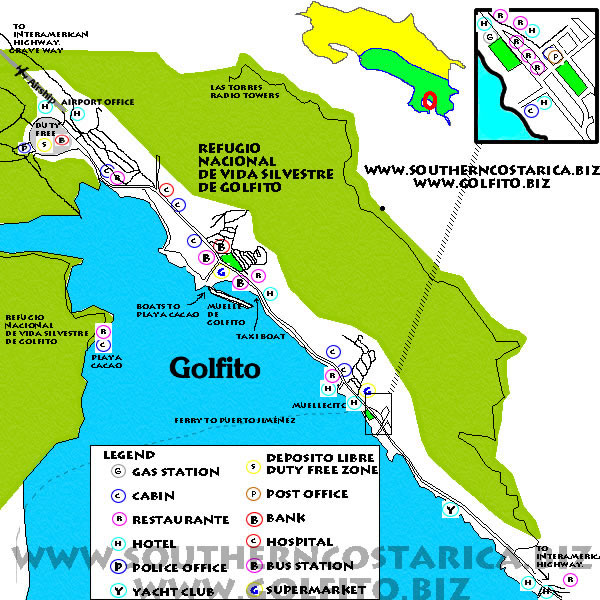 Touristic and Commercial guide to Golfito - Golfito City Map on golfito cr, weihai china map, ocala fl map, gainesville ga map, clearwater fl map, port costa ca map, spokane wa map, vero beach fl map, marble canyon az map, willow springs nc map, baltimore md map, kenora ontario map, huntington beach ca map, clinton mt map, naples fl map, golfito marina village, jupiter fl map, w palm beach fl map, niagara wi map, victoria bc map,